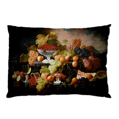 Abundance Of Fruit Severin Roesen Pillow Case (two Sides) by Amaryn4rt