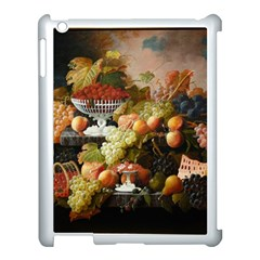 Abundance Of Fruit Severin Roesen Apple Ipad 3/4 Case (white) by Amaryn4rt