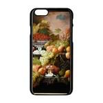 Abundance Of Fruit Severin Roesen Apple iPhone 6/6S Black Enamel Case Front