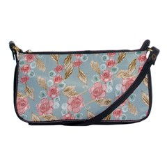 Background Page Template Floral Shoulder Clutch Bags by Amaryn4rt