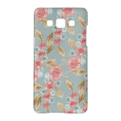 Background Page Template Floral Samsung Galaxy A5 Hardshell Case  by Amaryn4rt
