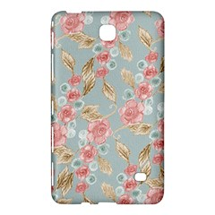 Background Page Template Floral Samsung Galaxy Tab 4 (7 ) Hardshell Case