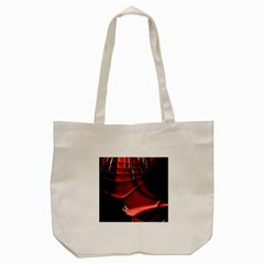 Fractal Mathematics Abstract Tote Bag (cream) by Amaryn4rt