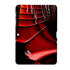 Fractal Mathematics Abstract Samsung Galaxy Tab 2 (10 1 ) P5100 Hardshell Case  by Amaryn4rt