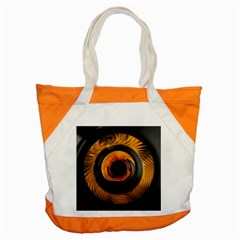 Fractal Mathematics Abstract Accent Tote Bag by Amaryn4rt