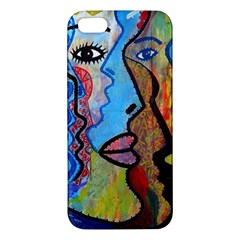 Graffiti Wall Color Artistic Iphone 5s/ Se Premium Hardshell Case by Amaryn4rt