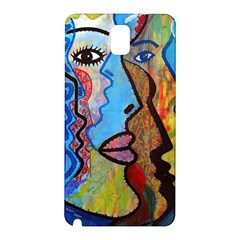 Graffiti Wall Color Artistic Samsung Galaxy Note 3 N9005 Hardshell Back Case by Amaryn4rt