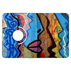 Graffiti Wall Color Artistic Kindle Fire Hdx Flip 360 Case by Amaryn4rt