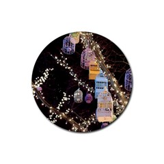 Qingdao Provence Lights Outdoors Rubber Round Coaster (4 Pack)