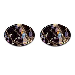 Qingdao Provence Lights Outdoors Cufflinks (oval) by Amaryn4rt