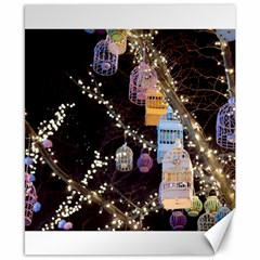 Qingdao Provence Lights Outdoors Canvas 8  X 10