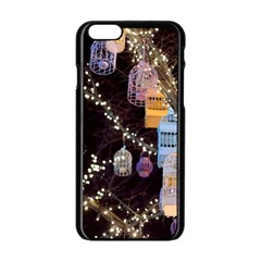 Qingdao Provence Lights Outdoors Apple Iphone 6/6s Black Enamel Case by Amaryn4rt