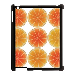 Orange Discs Orange Slices Fruit Apple Ipad 3/4 Case (black) by Amaryn4rt