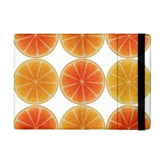 Orange Discs Orange Slices Fruit Ipad Mini 2 Flip Cases by Amaryn4rt
