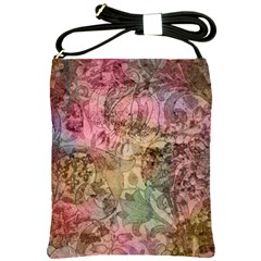 Texture Background Spring Colorful Shoulder Sling Bags by Amaryn4rt
