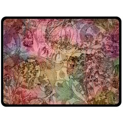 Texture Background Spring Colorful Fleece Blanket (large)  by Amaryn4rt