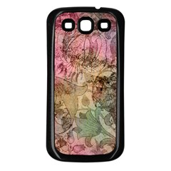 Texture Background Spring Colorful Samsung Galaxy S3 Back Case (black) by Amaryn4rt