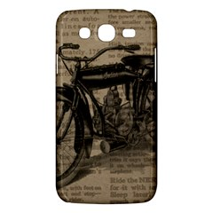 Vintage Collage Motorcycle Indian Samsung Galaxy Mega 5 8 I9152 Hardshell Case  by Amaryn4rt