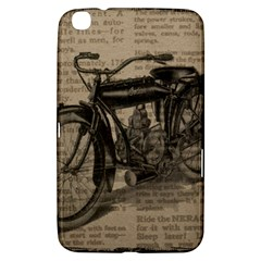 Vintage Collage Motorcycle Indian Samsung Galaxy Tab 3 (8 ) T3100 Hardshell Case  by Amaryn4rt