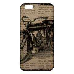 Vintage Collage Motorcycle Indian Iphone 6 Plus/6s Plus Tpu Case by Amaryn4rt