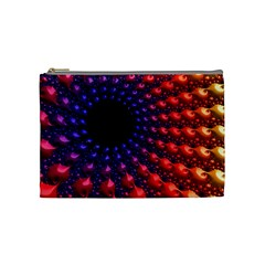 Fractal Mathematics Abstract Cosmetic Bag (medium)  by Amaryn4rt