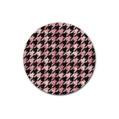 HTH1 BK-RW MARBLE Magnet 3  (Round) by trendistuff