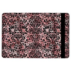 Damask2 Black Marble & Red & White Marble (r) Apple Ipad Air 2 Flip Case by trendistuff