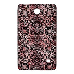 Damask2 Black Marble & Red & White Marble (r) Samsung Galaxy Tab 4 (8 ) Hardshell Case  by trendistuff