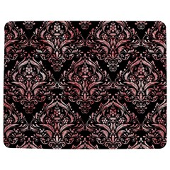 Damask1 Black Marble & Red & White Marble Jigsaw Puzzle Photo Stand (rectangular) by trendistuff