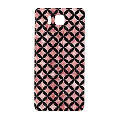 Circles3 Black Marble & Red & White Marble (r) Samsung Galaxy Alpha Hardshell Back Case by trendistuff