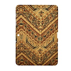 Batik Pekalongan Samsung Galaxy Tab 2 (10 1 ) P5100 Hardshell Case  by AnjaniArt