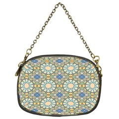 Arabesque Flower Star Chain Purses (one Side)  by AnjaniArt