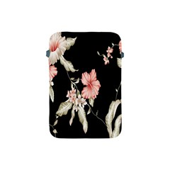 Buds Petals Dark Flower Pink Apple Ipad Mini Protective Soft Cases by AnjaniArt