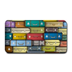 Colored Suitcases Medium Bar Mats by AnjaniArt