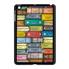 Colored Suitcases Apple Ipad Mini Case (black) by AnjaniArt
