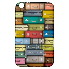 Colored Suitcases Samsung Galaxy Tab 3 (8 ) T3100 Hardshell Case  by AnjaniArt