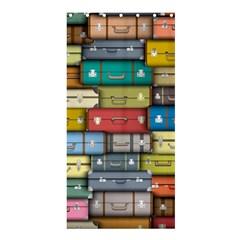 Colored Suitcases Shower Curtain 36  X 72  (stall)  by AnjaniArt