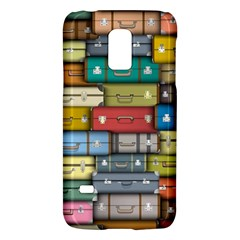 Colored Suitcases Galaxy S5 Mini