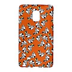 Cat Hat Orange Galaxy Note Edge by AnjaniArt
