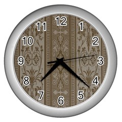 Cool Wall Bedroom Wall Clocks (silver)  by AnjaniArt