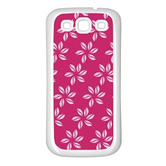 Flower Roses Samsung Galaxy S3 Back Case (white)