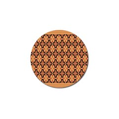 Flower Batik Golf Ball Marker (4 Pack) by AnjaniArt