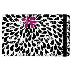 Flower Simple Pink Apple Ipad 3/4 Flip Case by AnjaniArt