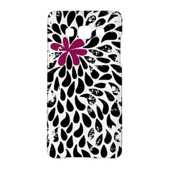 Flower Simple Pink Samsung Galaxy A5 Hardshell Case  by AnjaniArt