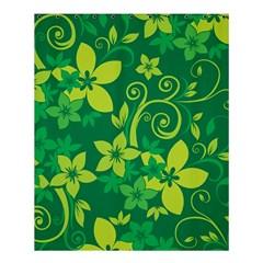 Flower Yellow Green Shower Curtain 60  X 72  (medium)  by AnjaniArt
