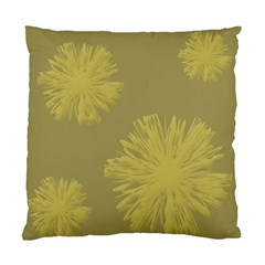 Flower Yelow Standard Cushion Case (two Sides) by AnjaniArt