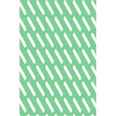 Green White Desktop 5 5  X 8 5  Notebooks by AnjaniArt