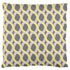 Hearts And Yellow Washi Zigzags Tileable Standard Flano Cushion Case (one Side)