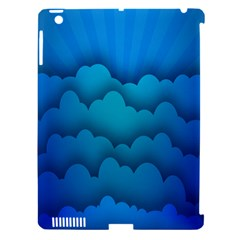 Blue Sky Jpeg Apple Ipad 3/4 Hardshell Case (compatible With Smart Cover) by AnjaniArt