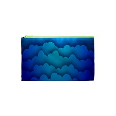 Blue Sky Jpeg Cosmetic Bag (xs)